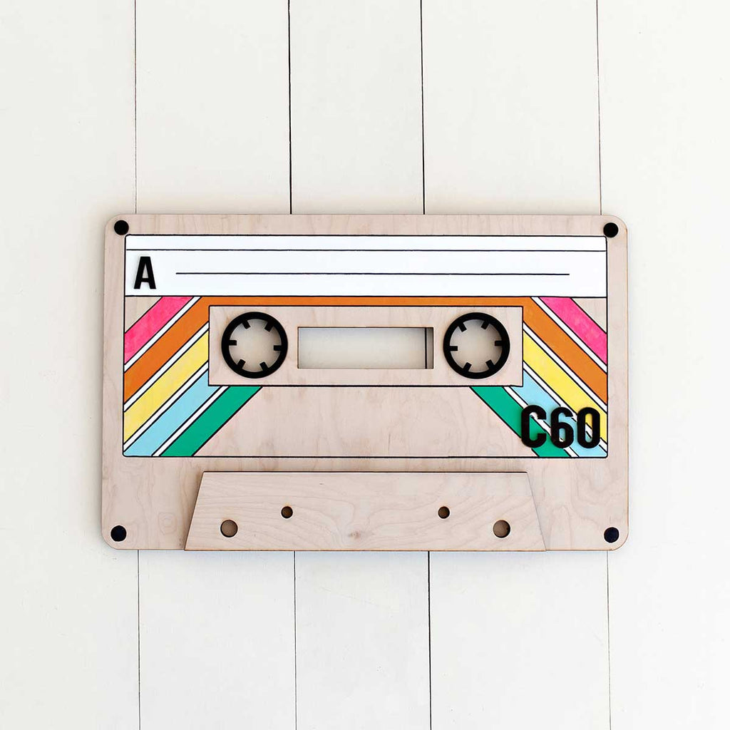 Cassette Tape Wall decor
