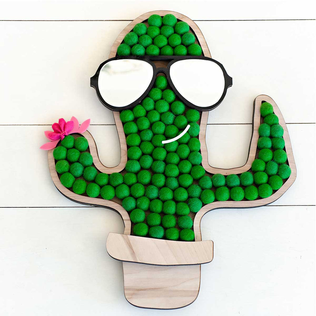 Mr. Cactus Wall Decor