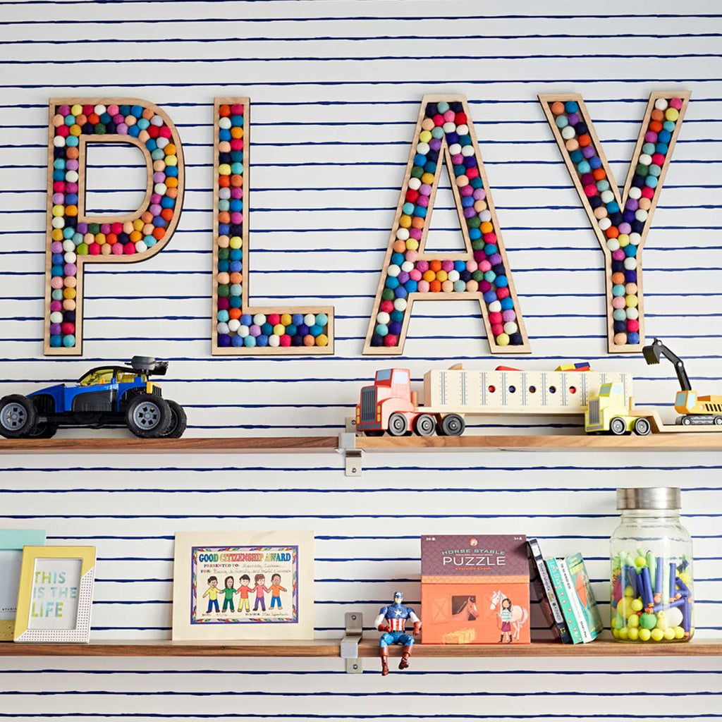 Tall PLAY Letters