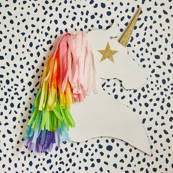 Rainbow Unicorn Wall Art