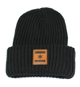 We Are One Star Beanie (Black)