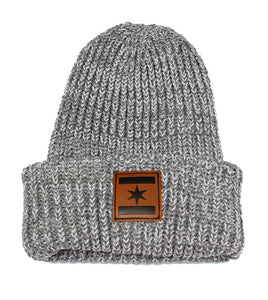 We Are One Star Beanie (Cement Grey)