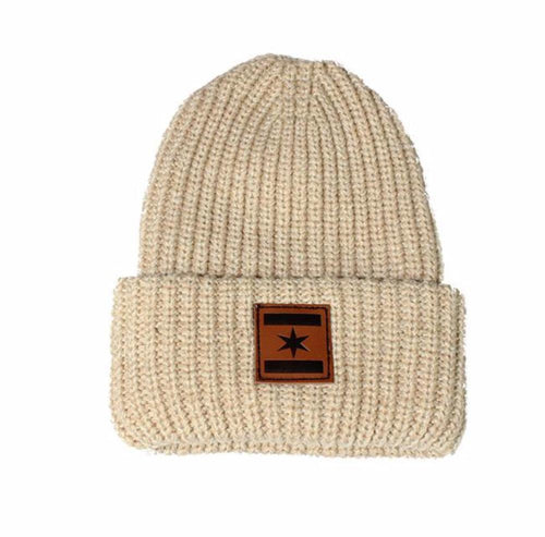 We Are One Star Beanie (Oatmeal)
