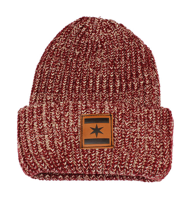 We Are One Star Beanie (Maroon 5)
