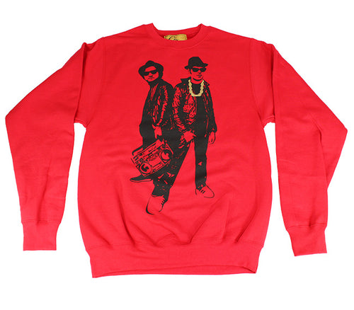 Blues Brothers/Run DMC (Red)