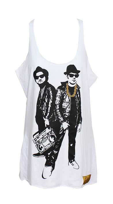 Blues Brothers Tank (White)