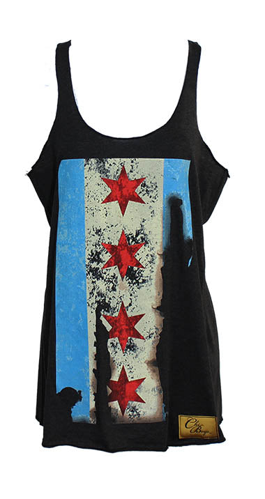 Chicago Fire Tank (Black)