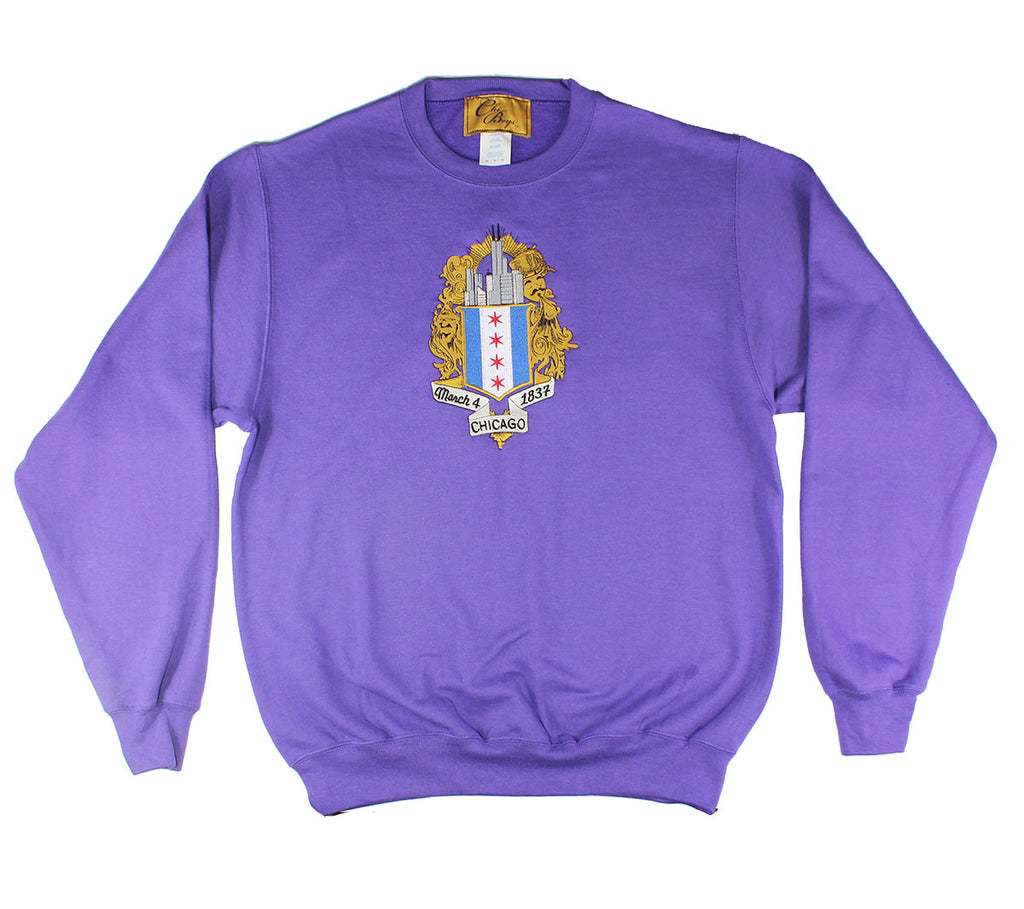 ChiBoys Embroidered Shield Crew (Kobe)