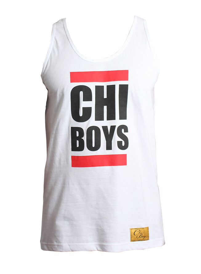 ChiBoys Run DMC Tank (White)