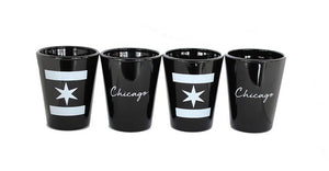 Chicago Shot Glasses The Complete Set (Includes all 4)