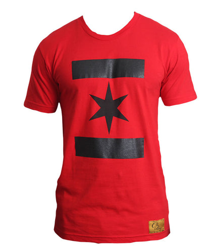 We Are One Star (Red w/ Black)