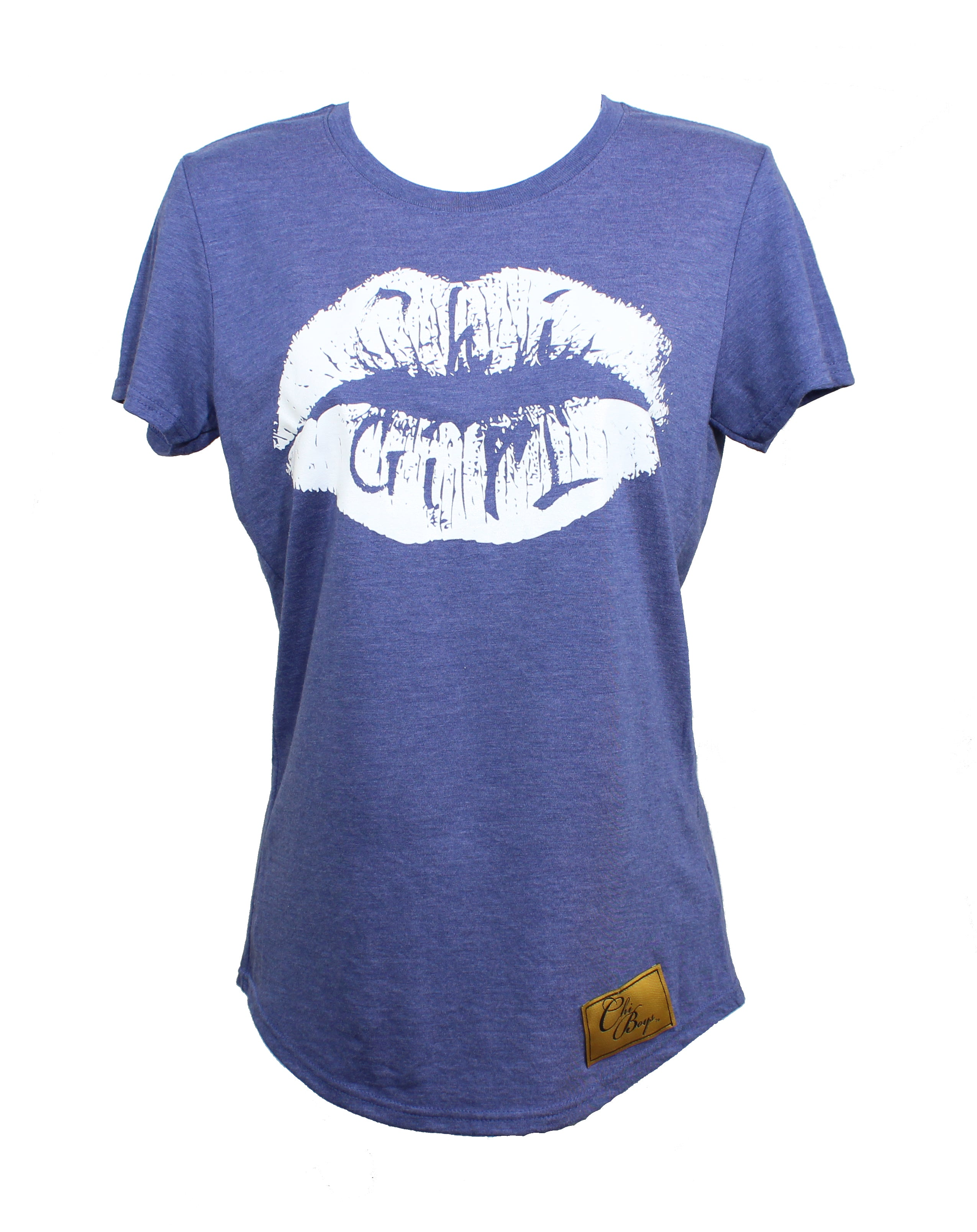 ChiGirl Lips (Vacation Blue w/ White)
