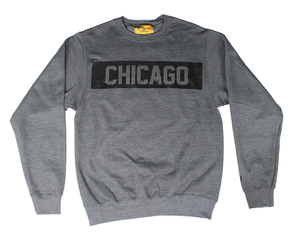 Chicago Crew (Heather Charcoal/Black)
