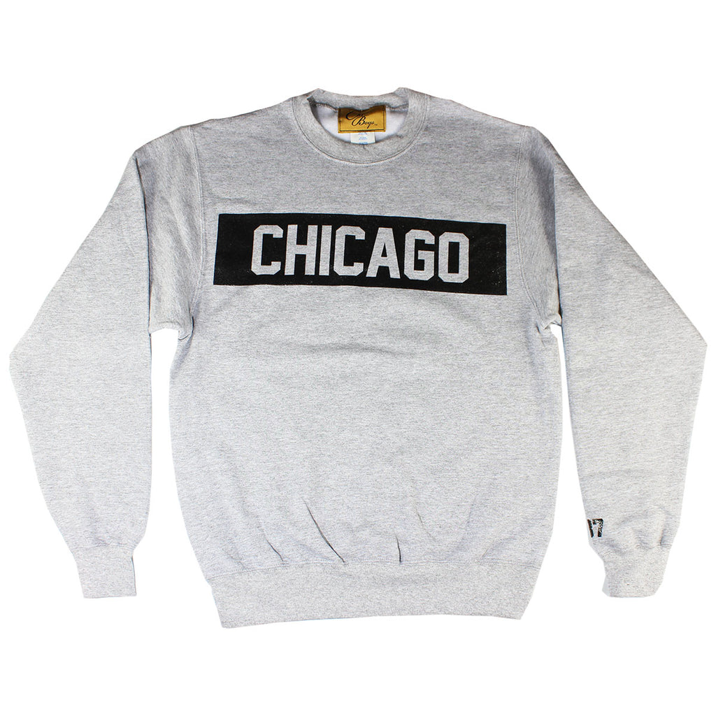 Chicago Crew (Heather Grey)