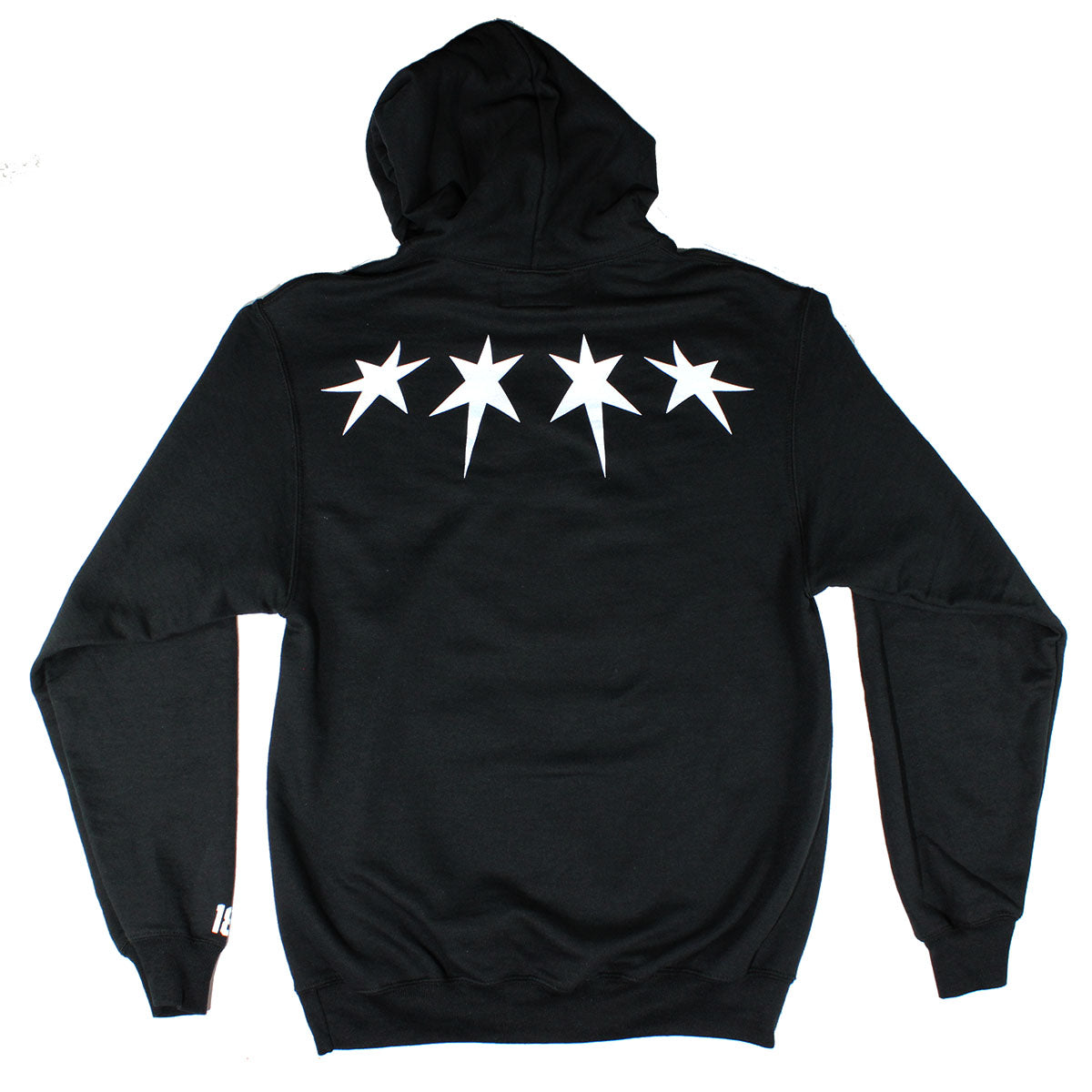 Chicago Hoodie (Black/White)