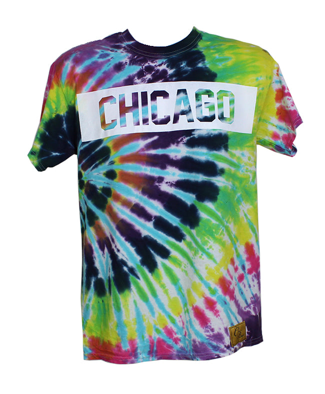 Chicago Chi Dye Tee (Hippie)