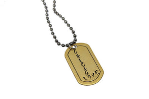 Handmade Dog Tags- Chicago Love