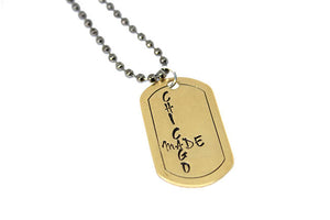 Handmade Dog Tags- Chicago Made