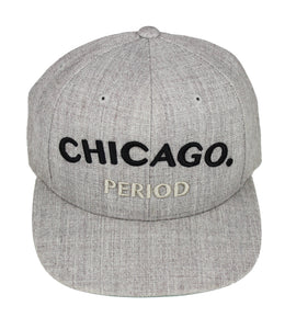 Chicago Period Snapback (Cement)
