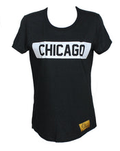 Chicago Tee (Black/White)