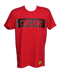 Chicago Tee (Red/Black)