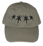 Dripping Stars Dad Hat (Army)