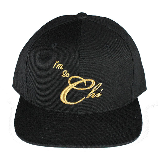 I'm So Chi Snapback (Black/Gold)