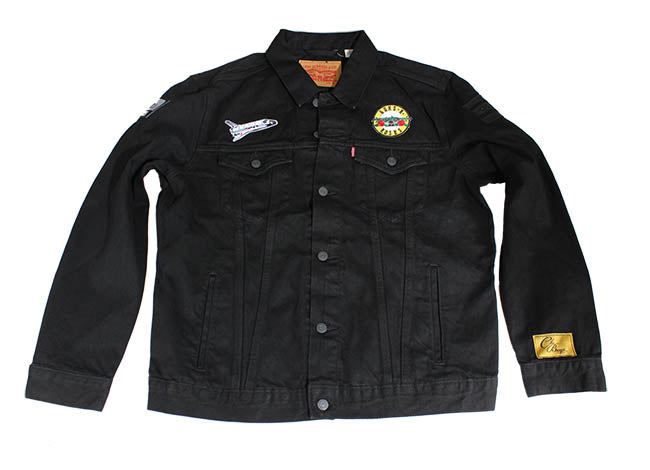 ChiBoys Custom Denim Jacket (Guns & Roses)