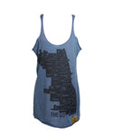 Neighborhoods Tank (Indigo)