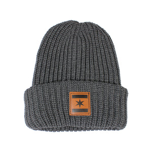 We Are One Star Beanie (Charcoal)