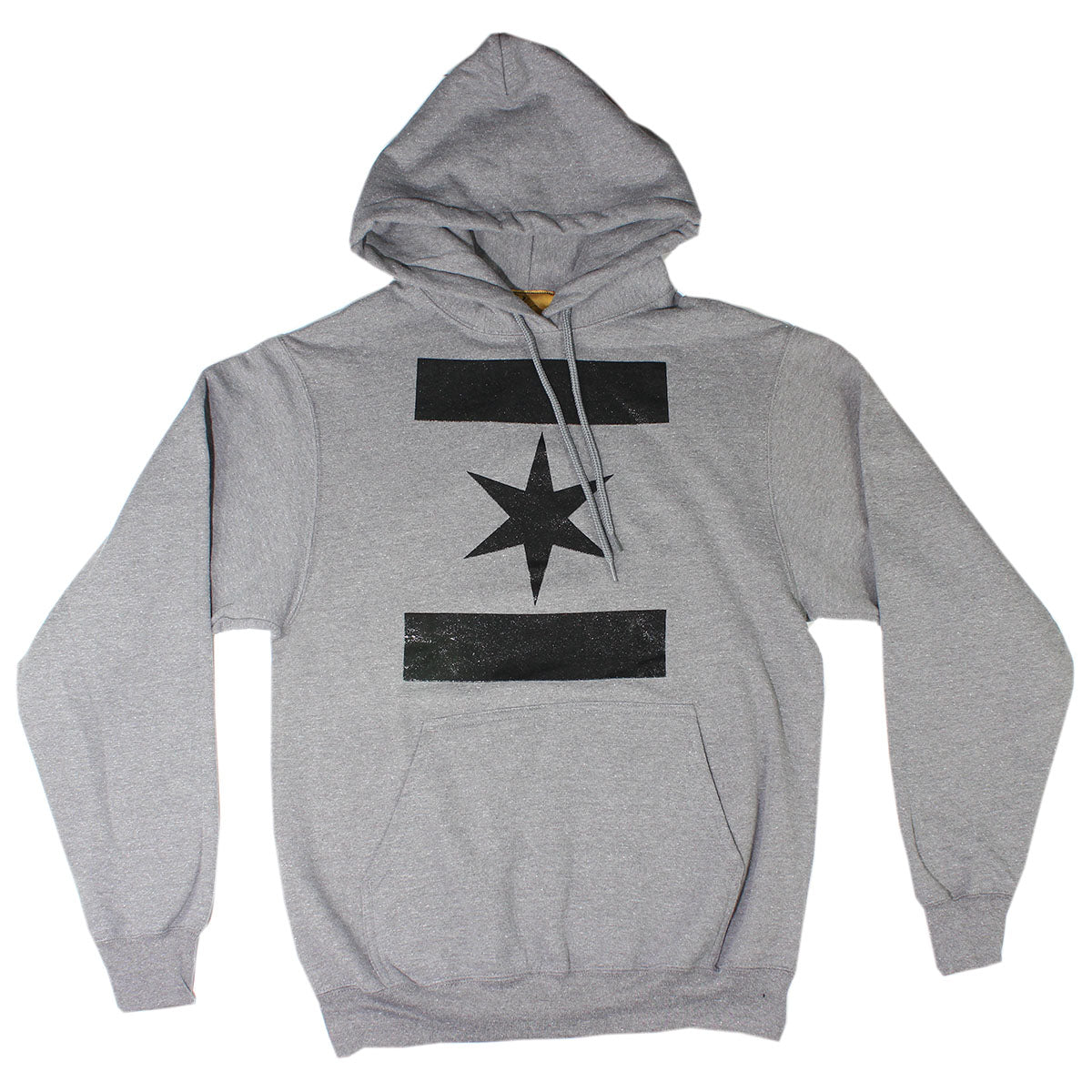 We Are One Star Hoodie (Cool Grey)