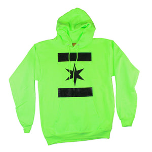 We Are One Star Hoodie (Electric Green)
