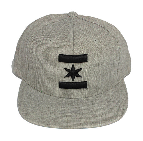 We Are One Star Snapback (Cement)
