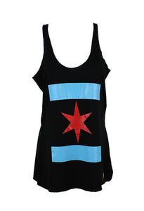 We Are One Star Tank (Black)