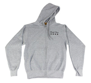 World Class Hoodie (Heather Grey)
