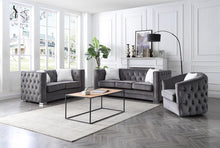 Load image into Gallery viewer, Grey Sofa Set