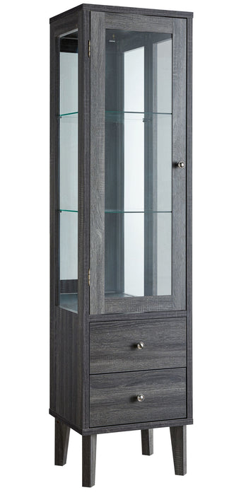 Apollo Wine Cabinet - Grey