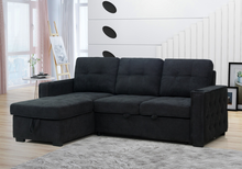 Load image into Gallery viewer, Daniella Pull-Out Sofa