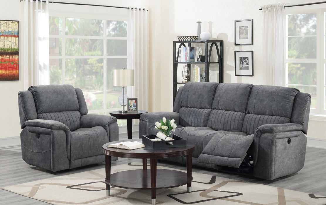 Fabric Power Recliner Set