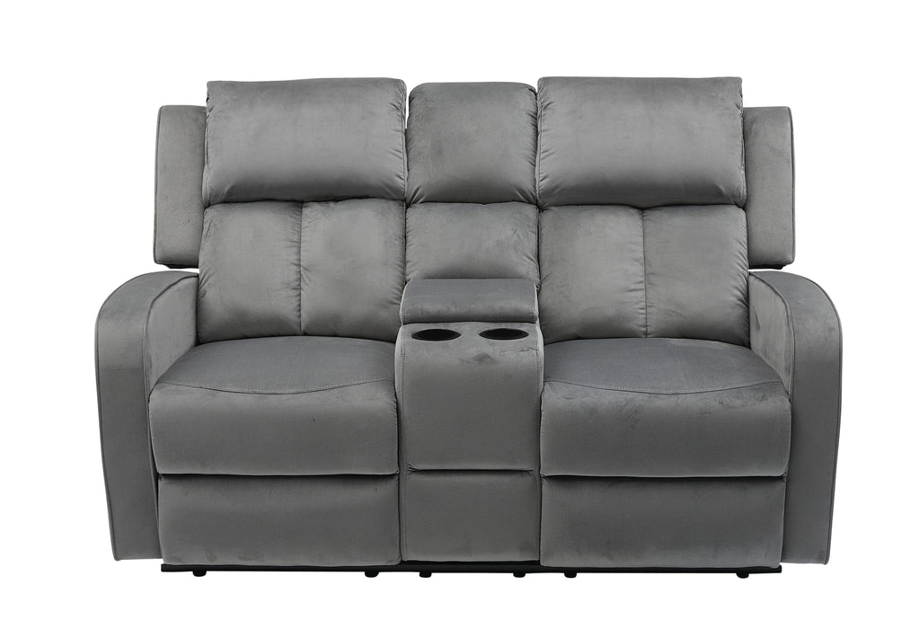 Hillsdale Fabric Recliner Series - Grey