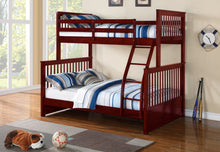Load image into Gallery viewer, twin/full bunk bed
