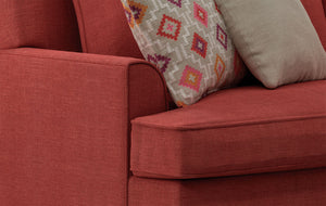 Hudson Sofa - Spectrum Rouge