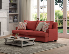 Load image into Gallery viewer, Hudson Sofa - Spectrum Rouge
