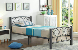 Smith Bed Frame (Twin/Colour Options)