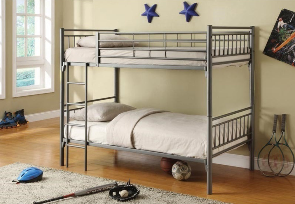 Marie Twin/Twin Bunk Bed (Colour Options)