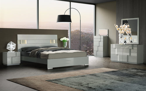 Latina 6Pc Bedroom Set (Size Options)
