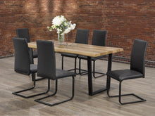 Load image into Gallery viewer, Vidal 7Pc Dinette Set (Chair Colour Options)