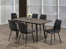 Load image into Gallery viewer, Attilio 7Pc Dinette Set (Chair Colour Options)