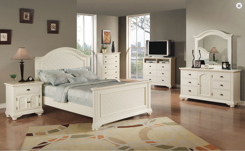 Brook 6Pc Bedroom Set (Size Options)