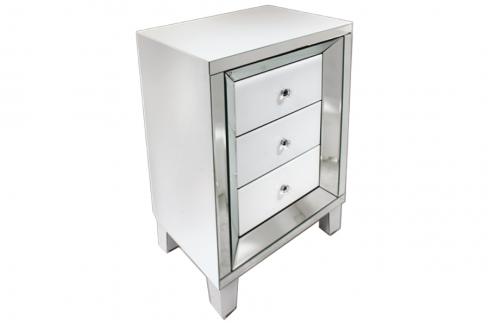 Glass/Mirror Night Stand